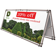 Banner Frames for Outdoor Events