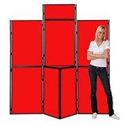 Folding Panel Display Boards