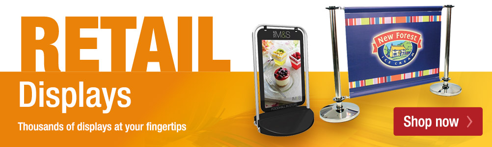 Retail display equipment - thousands of displays at your fingertips.
