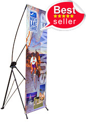 Folding banner Stand