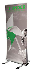 Budget Outdoor Roller Banner Stand