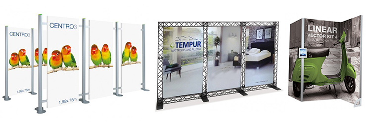 Portable Exhibition Display : Modular exhibition stands trade show display systems