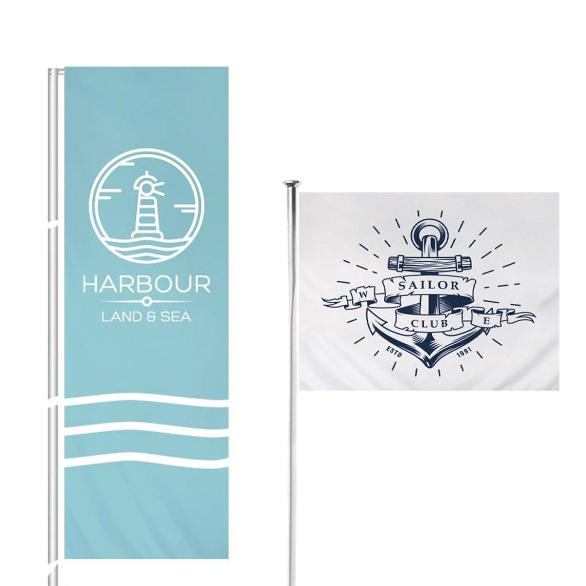 Custom Flagpole Flags