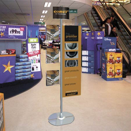 Versatile Polemorphic Display Stand