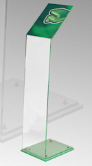 Acrylic Menu Holder Display Stand