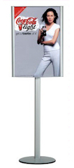 Free Standing Poster Holder