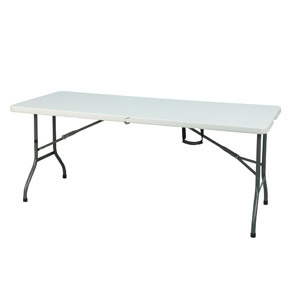 High Quality Event table 1830 x 760mm. - High density polyethylene top that wont crack, chip, peel or fade