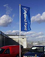 Forecourt Flagpole