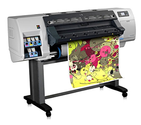 Fast colour poster printing service