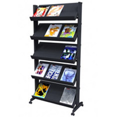 Showroom Literature Racks