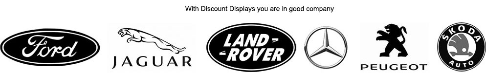 Automotive  industry display and print clients