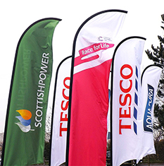advertising Feather Event Flags