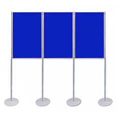Pole and Panel Display Stands