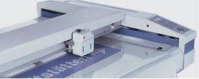 Zund Camera Controlled Multi Purpose Digital Die Cutter 3m x 1.8m zoomed in