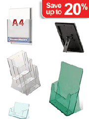 Counter and Desktop Literature Holders