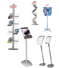 Floor Standing Brochure Holders