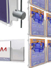 Hanging Brochure Holders