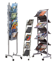 Mobile Literature Racks