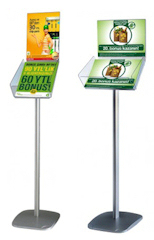 Brochure Dispenser Stand