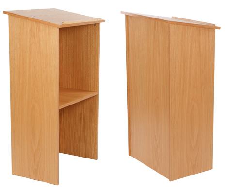 Wood Podium - Wooden Lectern Pulpit
