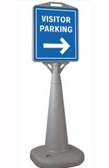 Outdoor Plastic Sign Holder