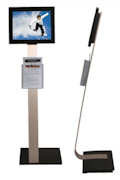 "Floor Standing 12"" Digital Display"