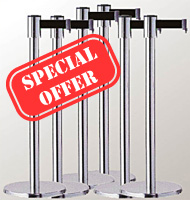 RETRACTABLE BARRIER SPECIAL OFFER BUNDLE