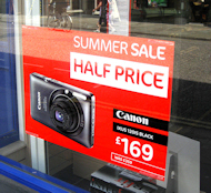 Promotional Window Poster
