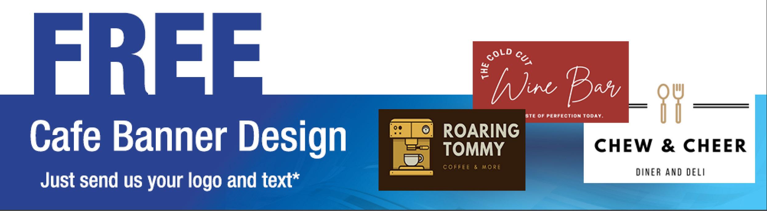 Free Cafe Banner Design