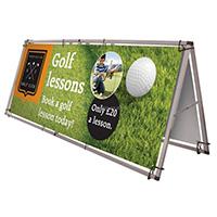 Portable Banner Frames