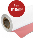 Economy Printed PVC Banner on a Roll