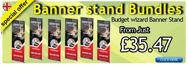 Banner Stand Bundle Offer