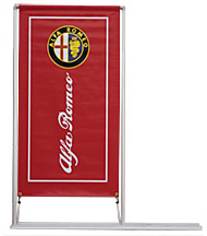 GIANT BANNA JUMBO OUTDOOR BANNER STANDS