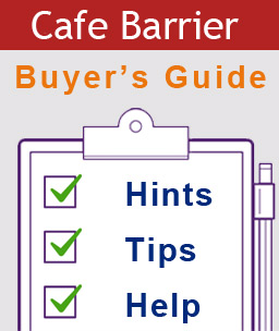 Cafe barrier buyers guide