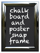 Chalk Board Snap Frames