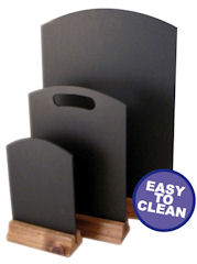 Easy Clean Table Top Chalk Boards