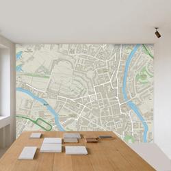 Custom printed wall paper