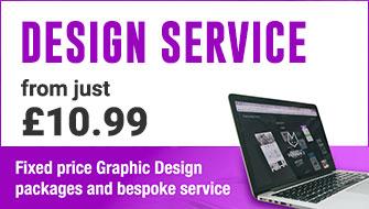 Design service just £10.99