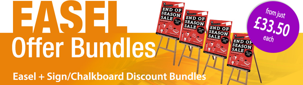 Display Easel Bundles