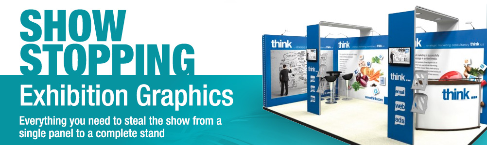 Exhibition Stand Graphics : Graphic panels for trade shows exhibition display board