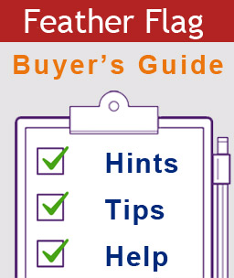 Feather flags buyers guide