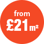 foamex from £21 a square meter