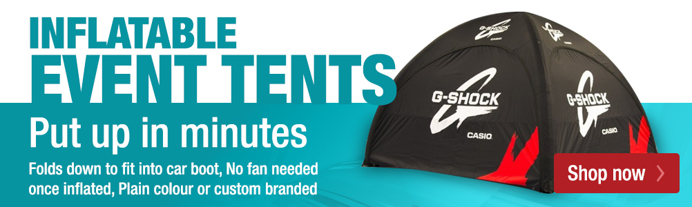 Inflatable event tents promo