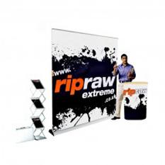 Portable solution 3m backwall - £789