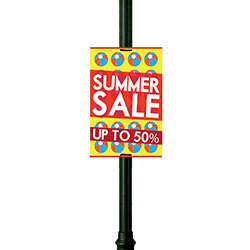 Lamppost Signs