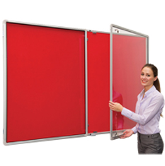 Lockable Notice Boards