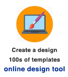Online design tool - personalised templates