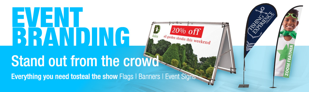 Event Signs and Banners