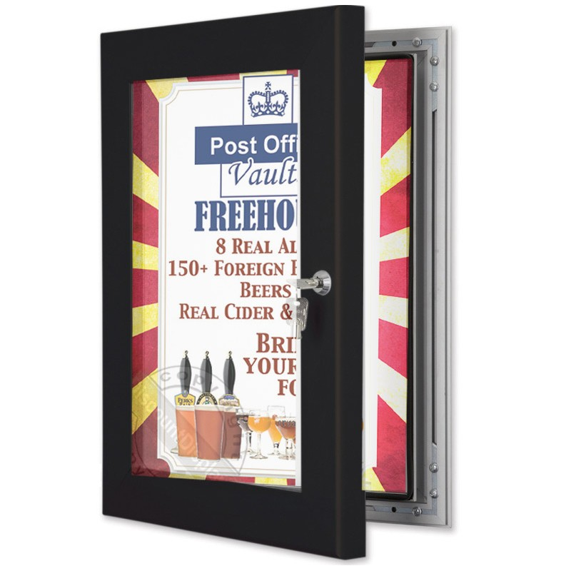 Poster and Menu Cases