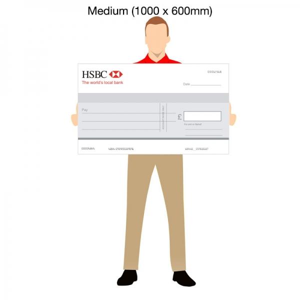 Medium Novelty Cheques - 1000x600mm